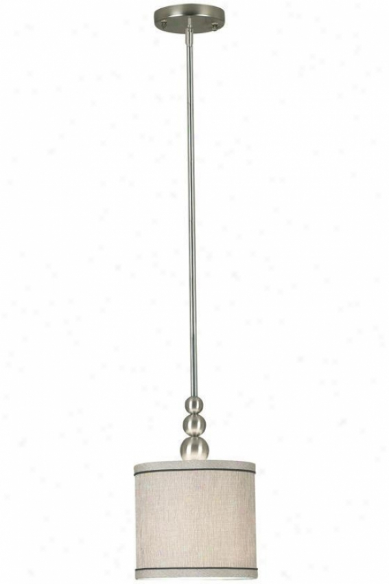 Margot 1-light Mini Pendant - 1-light, Grey Steel