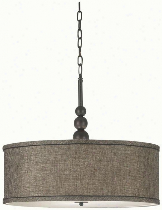 Margot Pendant - 3-light, Oil Rubbed Bronze