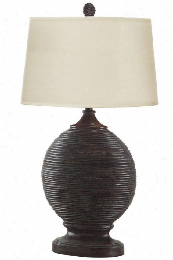 """marigot Table Lamp - 32""""h, Black"""