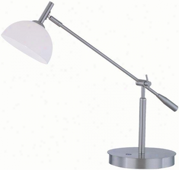 """marion Desk Lamp  -25.5""""x26.5"""", Silve5"""