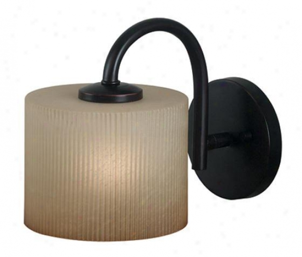 """matrielle Waall Sconce - 8""""h, Large boiler Bronze"""