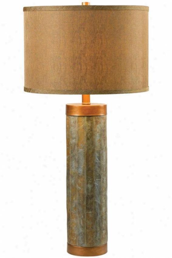 """mattlas Table Lamp - 30""""h, Copper"""