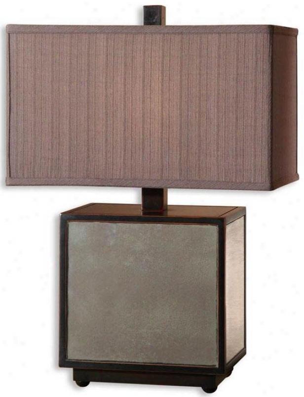 "m""atty Table Lamp - 26""""h, Black"""