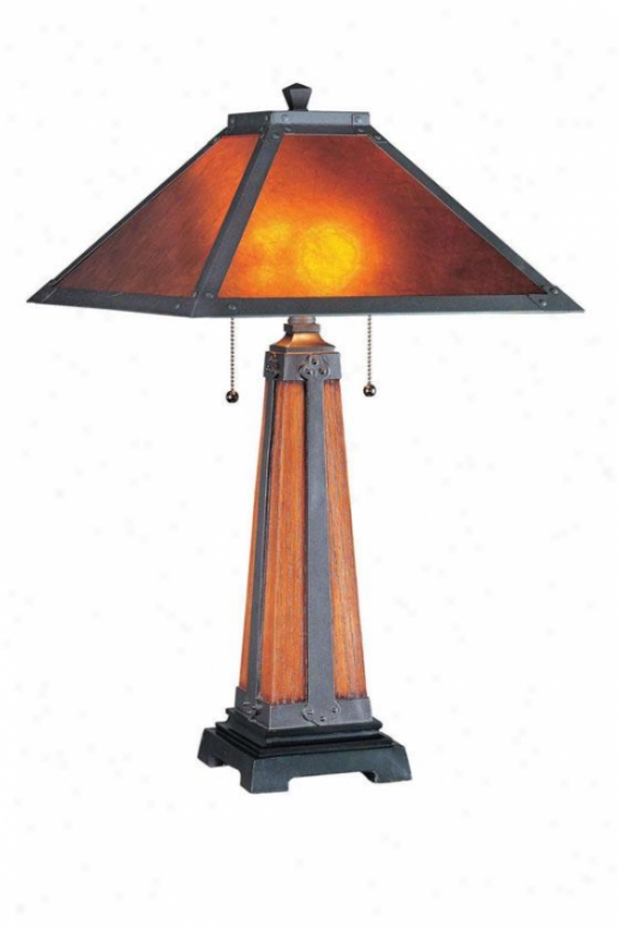 """micah Table Lamp - 27""""h X 15.75""""w, Dark Coffee"""