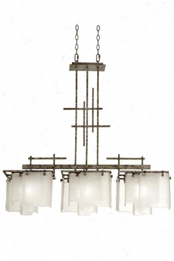 """modisty 40""""h Pendant - Three Light, Bakersfield"""