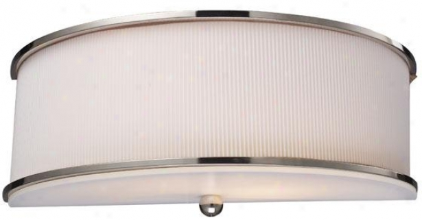 """monroe Sconce - 5""""hx13""""w, Steel Gray Nickel"""