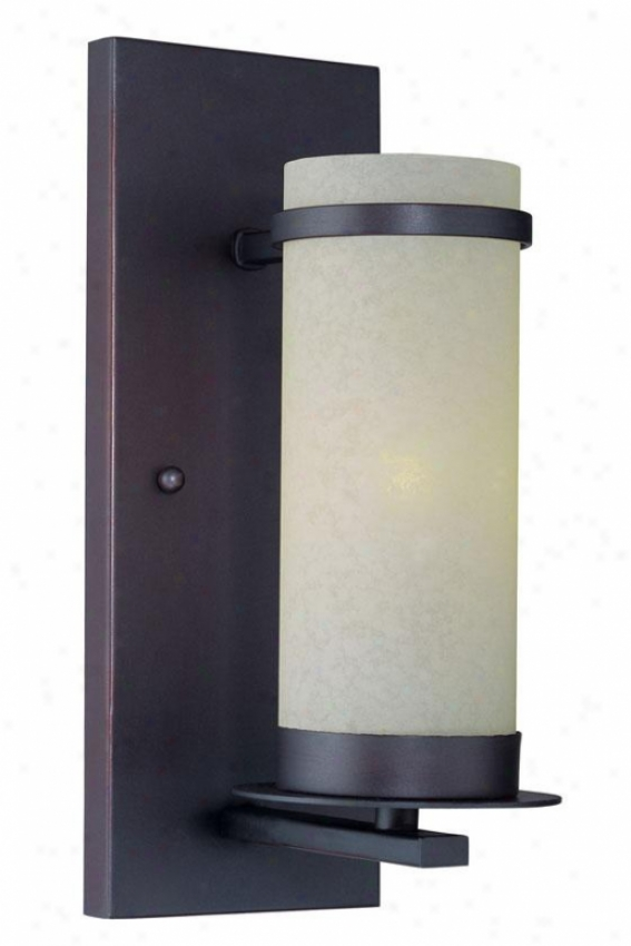 """montego Wall Sconce - 11.5""""h X 4.5""""w, Bronze"""