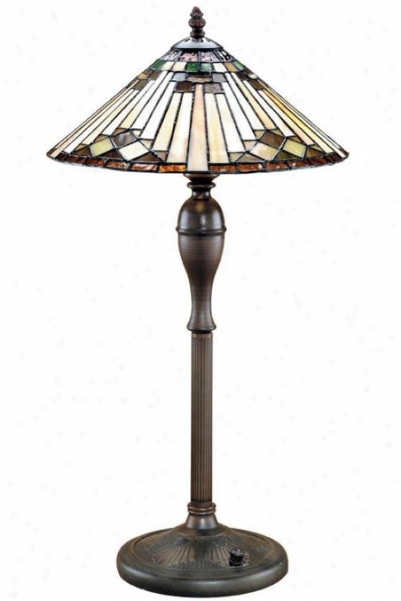 """moonstruck Table Lamp - 24.5""""hx14""""d, Bronze Bronz3"""
