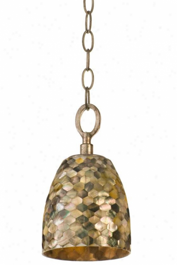 Naturals Black Mother Of Peearl Chain Pendant - Chain, Terra Silver