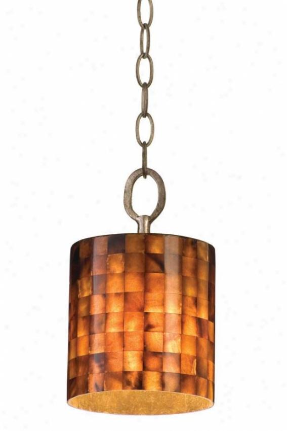 Naturals Black Pin Case Chain Pendant - Chain, Terra Silver