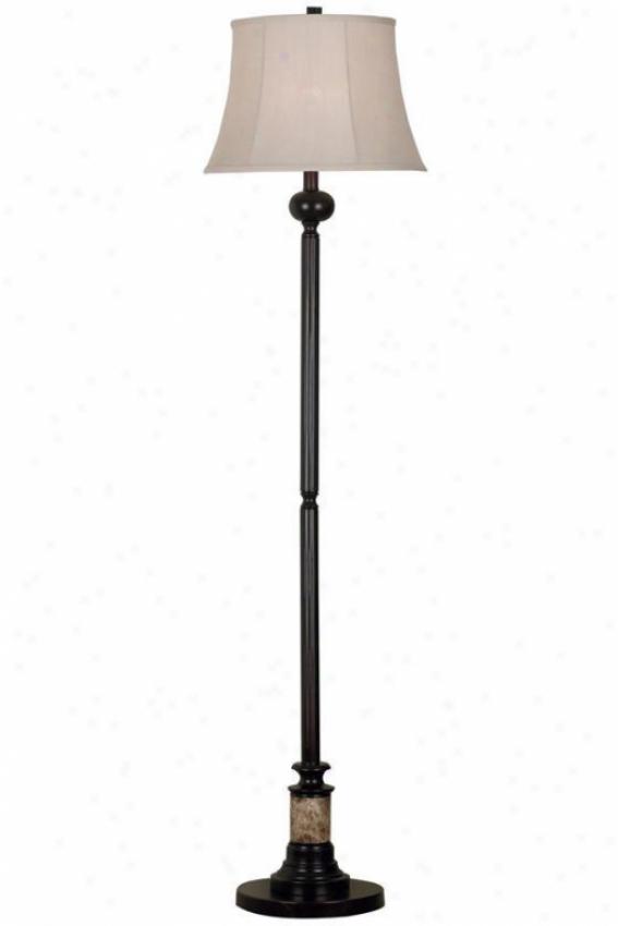 """""""newbury Floor Lamp - 61""""""""h, Bronze"""""""