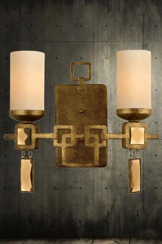 Noir 2-light Vanity - Two Light, Kolorado Tn Opl