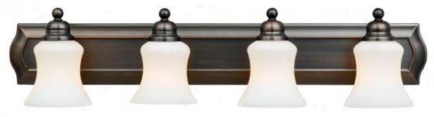 Oakland 4-light Conceit - 4-light, Harbor Bronze