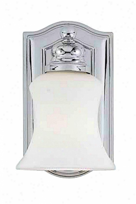 Oakland Sconce - 1-light, Steel Gray Chrome