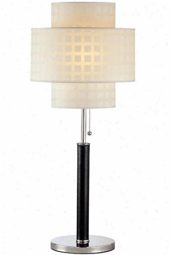 """""""olina Table Lamp - 31""""""""hx13""""""""d, Black"""""""