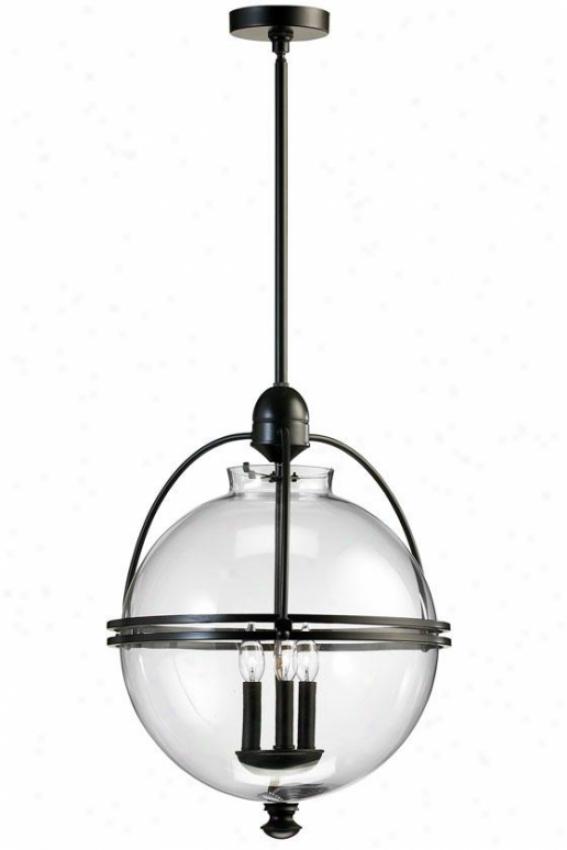 Ornamental Pendant - 3-light, Old World Fnsh