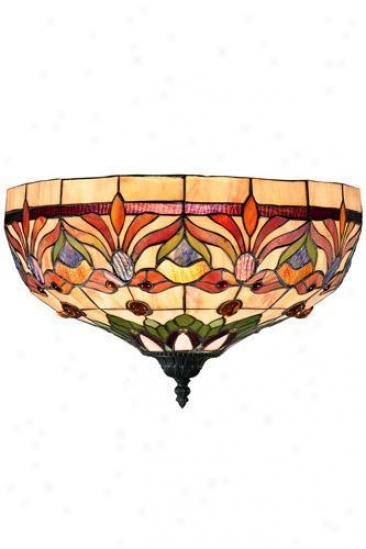 Oyster Bay Kaleidscope Wall Sconce - Wall Sconce, Red