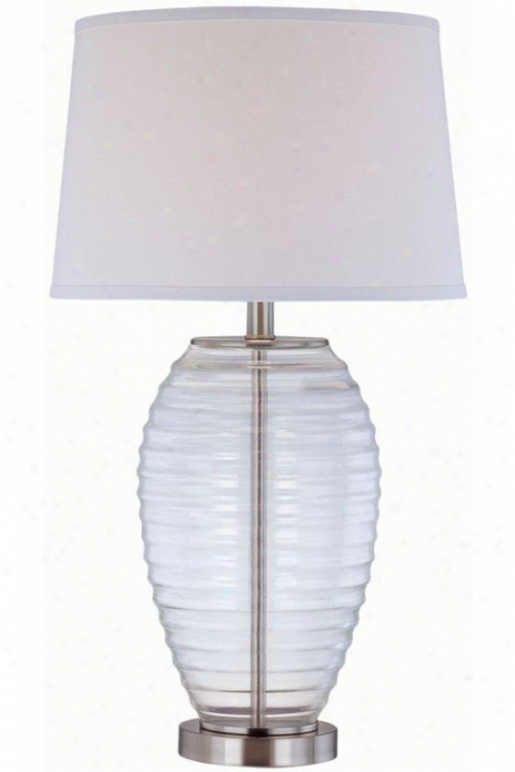 """""""pageant Table Lamp - 15""""""""x28"""""""", Unmixed"""""""
