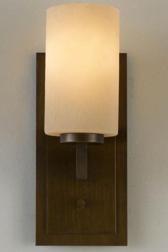 Parker Vanity Light - One Light, Heritage Bronze