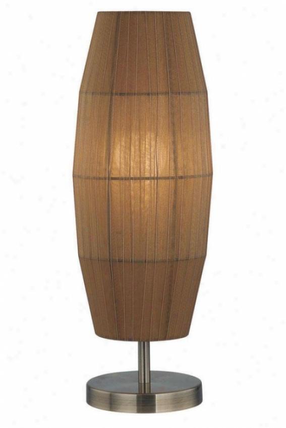 """parvati Table Lamp - 20.5""""h X 6""""w, Copper"""