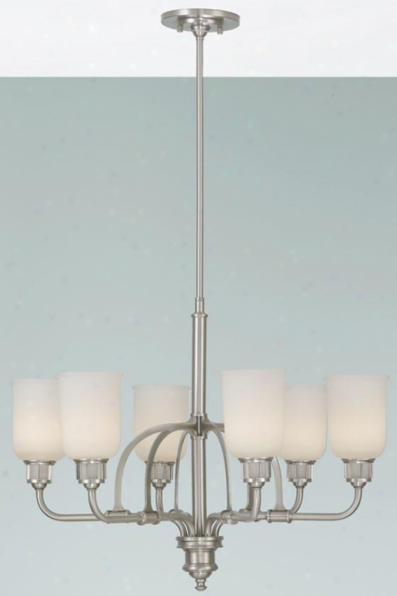 Payton Chandelier - Six Light, Grey Steel