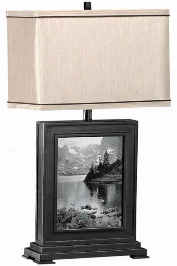 Photo Table Lamp - Taupe, Wicked