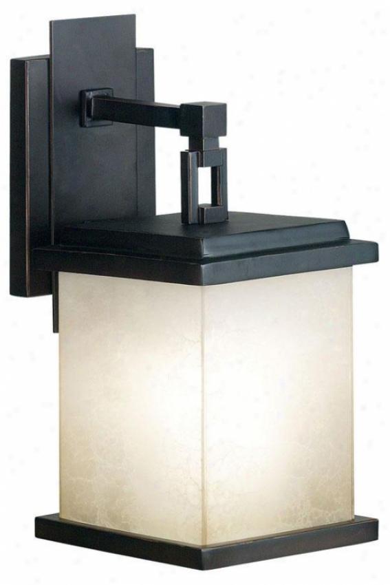 Piedmont Outdoor Lantern - Small, Oil Rubbed Bronze