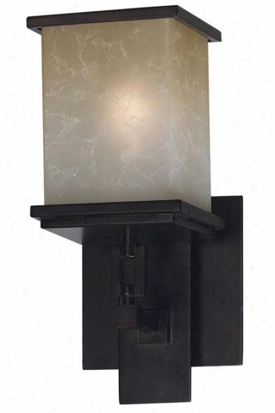 Piedmont Sconce - 1-light, Ojl Rubbed Bronze
