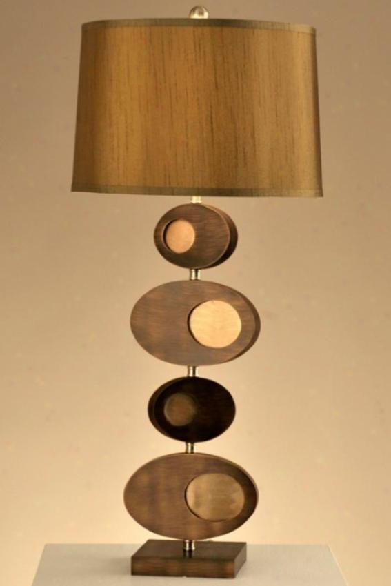 """pimento Table Lamp - 30""""h, Bronez"""