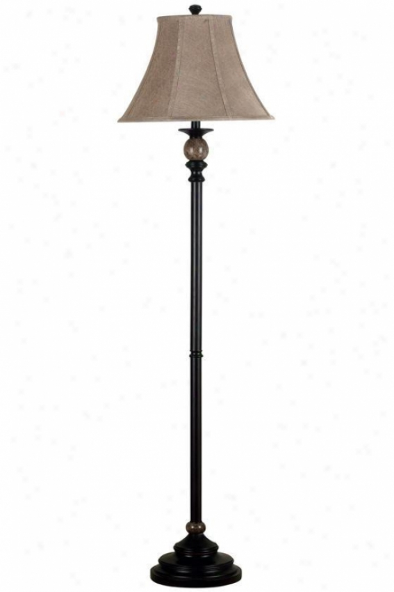 """plymouth Floor Lamp - 62""""hx16""""d, Oil Rubbed Bronze"""