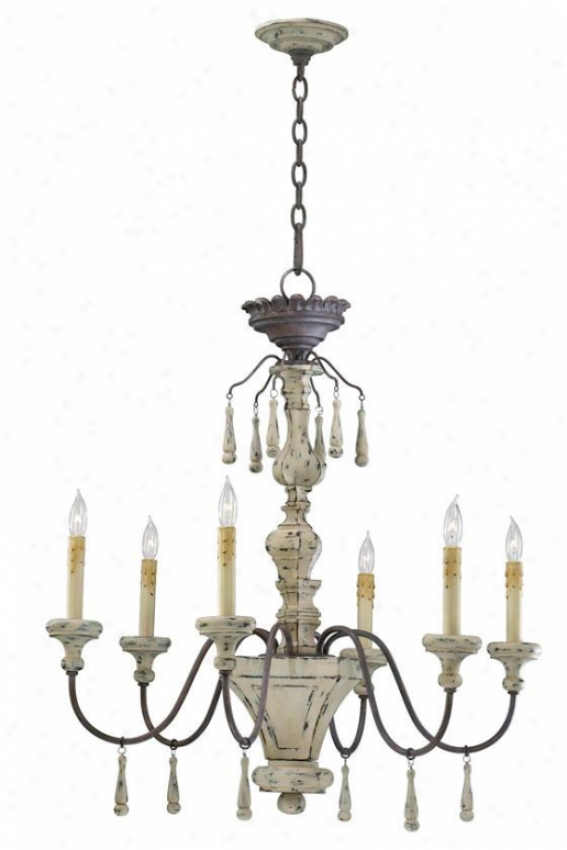 Proence Chandelier - 6-light, Carriage Hous3
