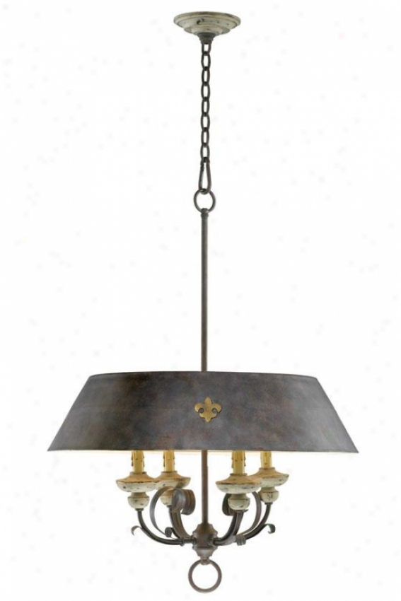 Provence Pendant - 4-light, Carriage House