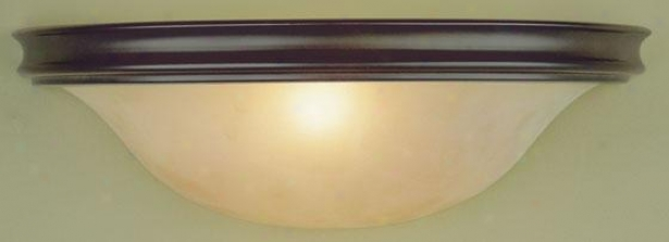 """pub Wall Light - 5""""h X 14""w, Oil Rub Bronze"""