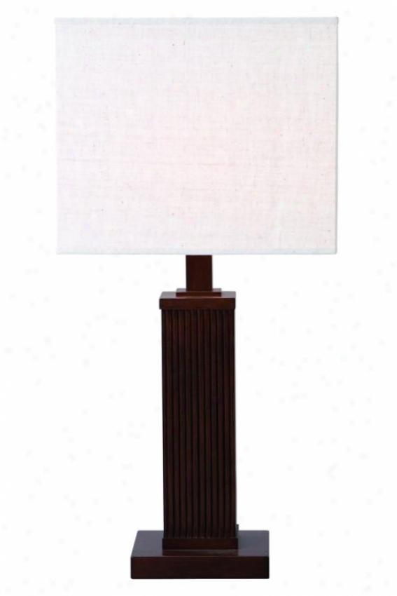 """""""regent Table Lamp -2 9""""""""hx12""""""""d, Brown"""""""