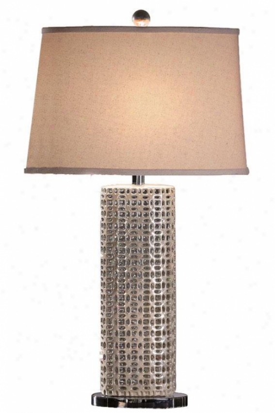 """""""seashell Table Lamp - 32""""""""h, Seashell White"""""""
