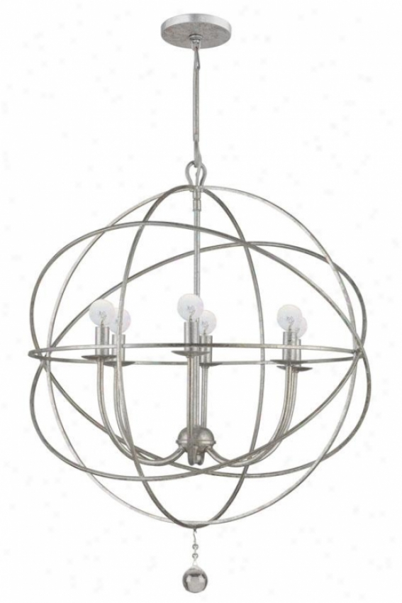 Solaris Chandelier - 6-light, Olde Gentle