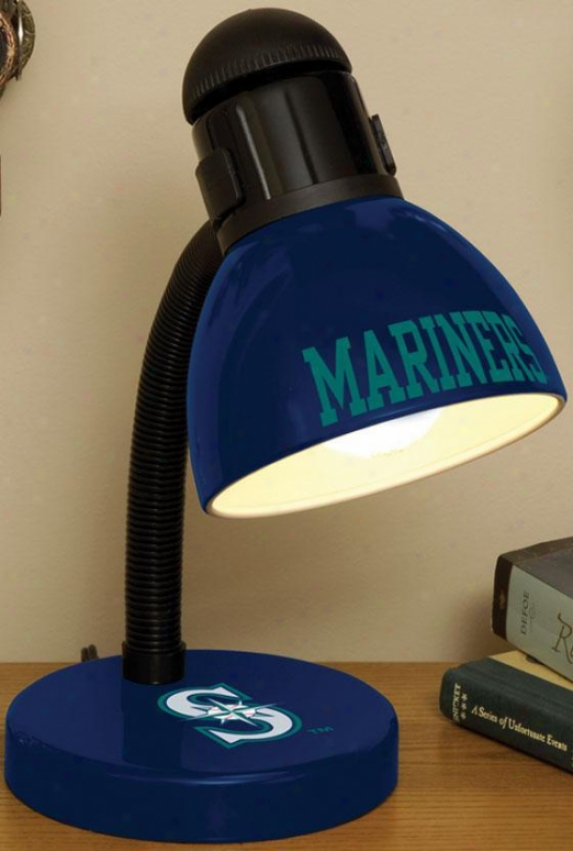 Sports Team Mlb Desk Lamp - Mlb Teams, Turquoise