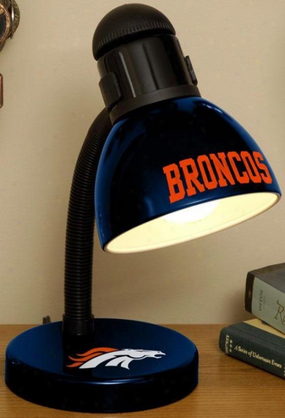Sports Team Nfl Desk Lamp - Nfl Teams, Blue
