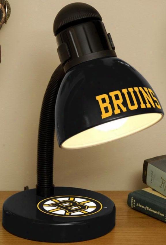 Sports Team Nhl Desk Lamp - Nhl Teams, Boston Bruins