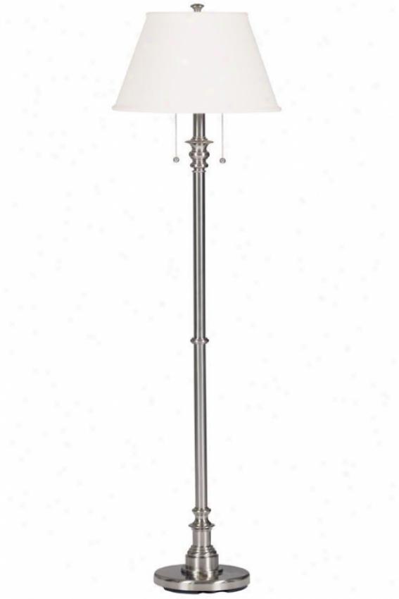 """""""spyglass Floor Lamp - 60""""""""h, Grey Steel"""""""