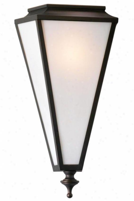Star-orb Sconce - 1-light, Oiled Bronze