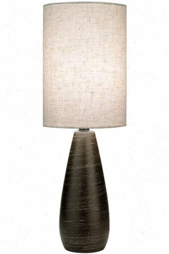 Stilton Table Lamp - Large, Bronze