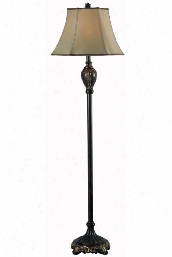 Tessa Floor Lamp - Floor, Bronze