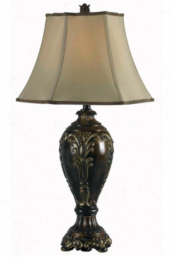 """tessa Table Lamp - 32""""h, Bronze"""