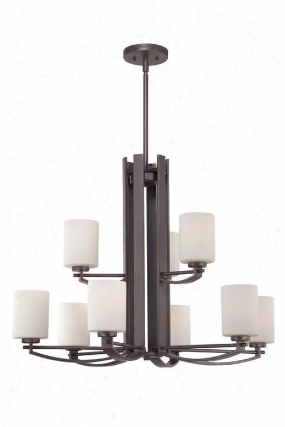Truman 4-light Chandelier - 4-light, Western Bronze