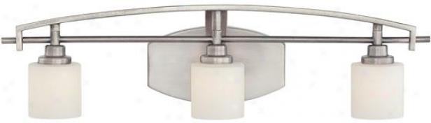 Truman Curved 3-light Vanit Light - 3-light/curved, Nickel