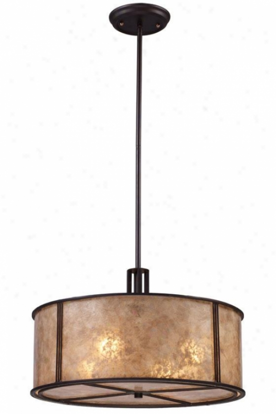 Turlington Pendatn - 4 Light, Bronze Alloy of copper