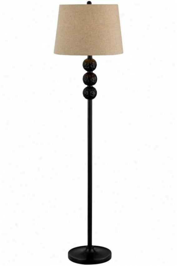 """""""Obscure Floor Lamp - 58""""""""h, Bronze"""""""