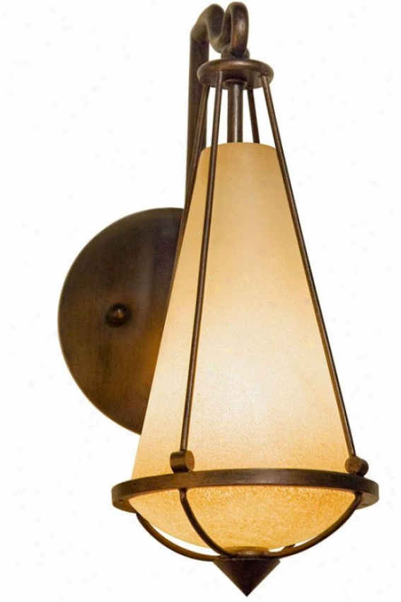 """""""two-if-by-ssa Sconce - 13.5""""""""h X 6""""""""w, Steeple Chase"""""""