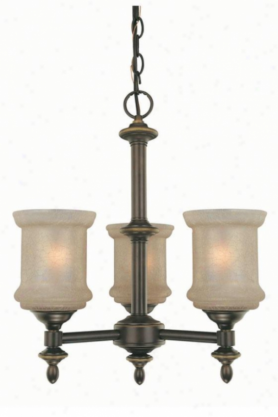 Vashon 3-light Chandelier - Trhee Light, Bronze